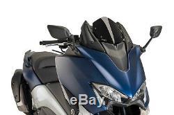 Puig V-tech Line Supersport Windshield Yamaha T-max 530 2017 Black