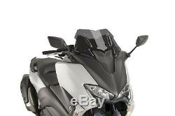 Puig V-tech Sport Line Windshield Yamaha T-max 530 2018 Smoke Dark