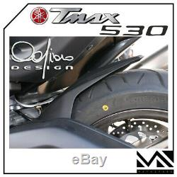 Rear Mudguards Mudguards Rear Black Yamaha T-max 530 Tmax Year 2016