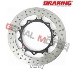 Rl8002 Brake Disc Front Braking R-flo For Xp Yamaha T-max 2004 2007