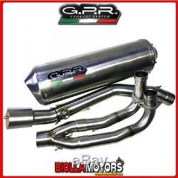 Scom. 108. Mmrpower Exhaust Full Gpr Yamaha T-max 500 2008-2011