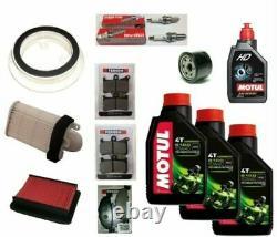 Service Maintenance Kit Yamaha T-max Xp 500 2008/2011 Filters Oil Motul Pads