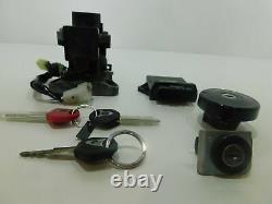 Set Keys Contact Ecu Lock-way Yamaha T-max 530 2012