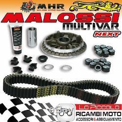 Set Malossi Mhr Variator Multivar Next + Belt Yamaha Tmax 500 2006 2007