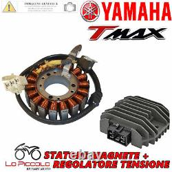 Set Stator Magnet + Voltage Regulator Yamaha Tmax T Max 500 2006 2007