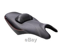 Shad Comfort Saddle Scooter Yamaha Tmax 530 Tmax 2008 To 2016 Black Red
