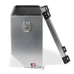 Suitcases Side Aluminum 2x36l + 18mm Kit For Yamaha T-max 500/530, 700 Tenere