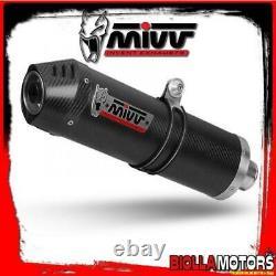 Y. 028. L3c Pot Of Échappement Full 2x1 MIVV Yamaha T-max 500 2011- 500cc Oval Carb