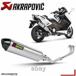 Yamaha T-max 500 2008 2009 Full Line Akrapovic Titanium Rc
