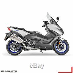 Yamaha T-max 530 2017 2018 Tmax Complete Line Akrapovic Titanium