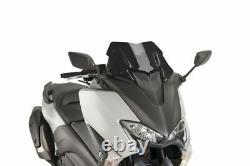 Yamaha T-max 530 2017 Bulle Puig Black V-tech Sport Jump Wind