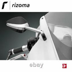 Yamaha T-max 530 Sx 2019 Rizoma Bs205a Bs805b Silver Retroviseur Sport Fast