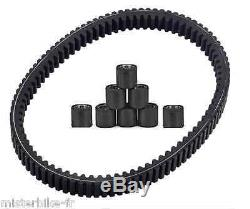 Yamaha T-max 530 Tmax Adjustable Roller Belts Pack From 2012