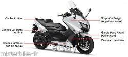 Yamaha T-max 530 White White Competition Bodywork Trim Kit