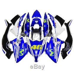 Yamaha T-max Tmax 530 Black Blue Fairing Body Kit 2012 2013 2014