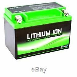 Ytz12s-bs Ktm Lithium Battery Super Motard 950 / Yamaha Xp 530 T-max 2012