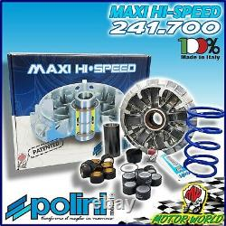 241.700 Variateur Polini Hi-Speed + Ressort de Contraste Yamaha Tmax T-Max 530
