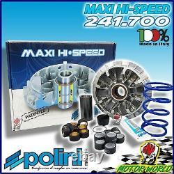 241.700 Variateur Polini Hi-Speed + Ressort de Contraste pour Yamaha Tmax T-Max