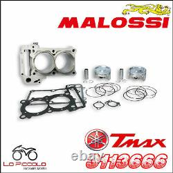 3113666 MALOSSI Groupe Thermique Bicylindre Ø70 Yamaha Tmax T Max 500 2010 2011