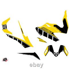 60300439 Kit déco KUTVEK Vintage jaune Yamaha T-Max 530