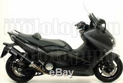 Arrow Ligne Complete Approuve Race-tech Carby Noir Yamaha T-max 530 2014 14