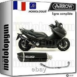Arrow Ligne Complete Hom Nocat Race-tech Noir C Yamaha Tmax T-max 530 2016 16