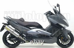 Arrow Pot Echappement Approuve Race-tech C Yamaha Yp 500 T-max 2008 08 2009 09