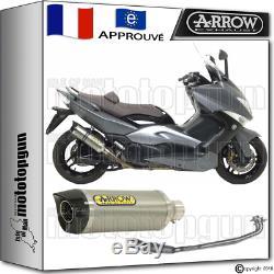 Arrow Silencieux Complete Thunder Titane CC Hom Yamaha Yp T-max 500 2010 10