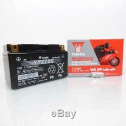 Batterie Yuasa pour pour Scooter Yamaha 500 Xp T-Max Abs 2008 à 2011 Neuf