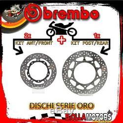 Brdisc-4798 Kit Disques De Frein Brembo Yamaha T Max Iron Max 2015- 530cc Avant