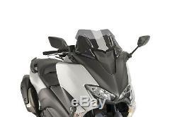 Bulle Puig V-tech Line Sport Yamaha T-max 530 Dx/sx 2018 Fume Clair