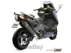 Échappement Complète Pour Yamaha T-max 530 2012 2016 MIVV Stronger Black