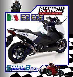 Echappement Complète Yamaha T-max 530 2017 Giannelli X-pro Nichrom Kat Euro 4