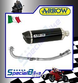 Echappement Complète Yamaha Yp 500 T-max 2008 2011 Arrow Race Tech Dark Carby