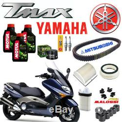 Entretien Oil Motul 5100 Filtre Air Huile Ceinture Yamaha T-max Tmax 500 2001 07