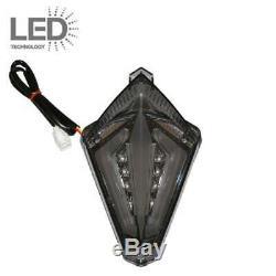 Feu arrière fumé noir à LED Yamaha T-MAX TMAX 530 2012 à 2016 R1 2007 à 2008