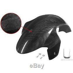 Front Garde-boue Pieces Rugueux Carbon Fiber Yamaha 500 Xp T-max'01/'04