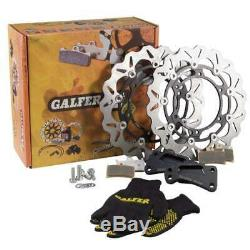 GALFER 152104 Set Disques de Frein Arrière T-Max 530 2012 Ø 298mm