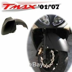 Garde-Boue avant Noir Satinée Yamaha 500 XP T-Max SJ061 2001-2007