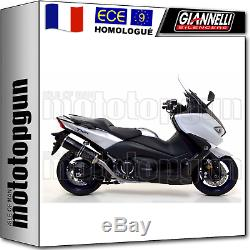 Giannelli Pot Complete Homcat Ipersport Noir Yamaha T-max Tmax 530 2017 17