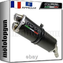 Gpr Ligne Pot Complete Approuve Dual Carbon Yamaha T-max 500 2011 11