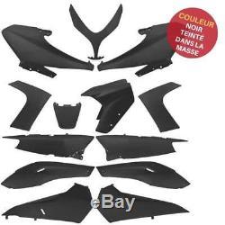 Kit Carenage Plastique 13 Pieces Noir Black A Peindre Yamaha Tmax T Max 500 2008