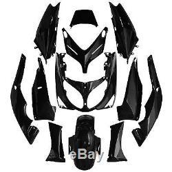 Kit Habillage 12 Pieces Noir Pour Yamaha T-max 2001-2007
