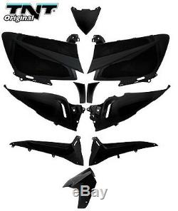 Kit carénage YAMAHA T-Max 530 10 pièces Tmax noir brillant coques NEUF fairing