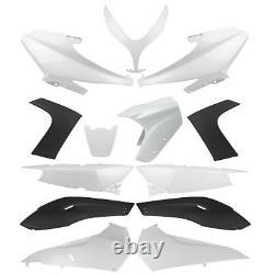 Kit carrosserie carénage Blanc 13 coque YAMAHA T-Max TMAX 500 de 2008 à 2011