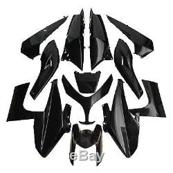 Kit carrosserie carénage Noir 13 coque YAMAHA T-Max TMAX 500 de 2008 à 2011