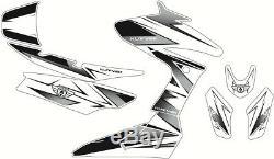 Kit deco velocity kutvek blanc/noir yamaha t-max 530