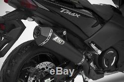 LIGNE COMPLETE ZARD CONIQUE INOX euro4 YAMAHA T-MAX 530 2017/18