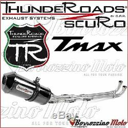 Ligne Complete Approuvé Thunderoads Scuro Yamaha T-max 500 No Sonda 2007