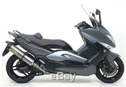 Ligne Complète Arrow Race-tech Titane Yamaha T-max 500 2008/11 71390mi+73507pk